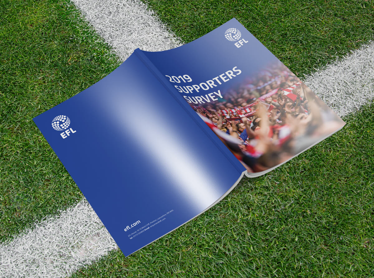 EFL Supporters Survey Report Front and Back Cover